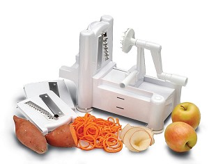 Spirooli Spiral Vegetable Slicer from Paderno World Cuisine